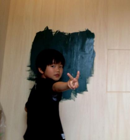 黒板塗装004